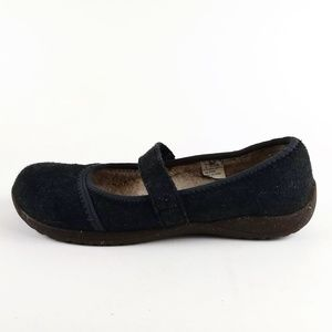 L.L.Bean Wool Mary Jane Slipper Shoes 8M